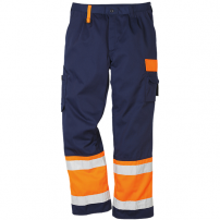 Fristads Bundhose 213 PLU EN 471 orange/marine