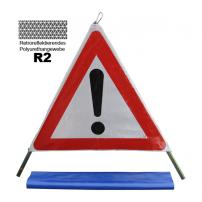 """Faltsignal """"Reflex R2"""" 90 cm 3-Seiten (1.30 andere Gefahren)"""